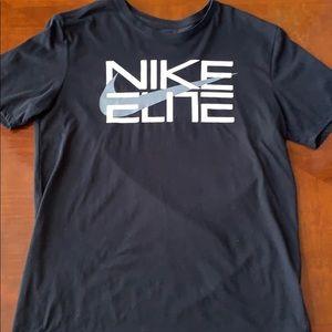 Nike Elite Black Tee Size L
